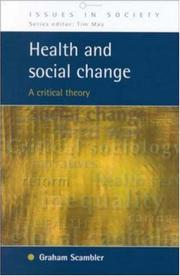Cover of: Health and Social Change | Graham Scrambler