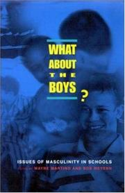 Cover of: What About the Boys?