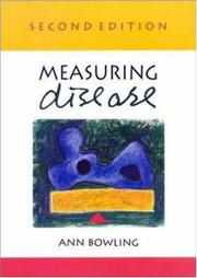 Cover of: Measuring Disease | Ann Bowling