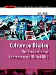 Cover of: Culture on Display | Bella Dicks