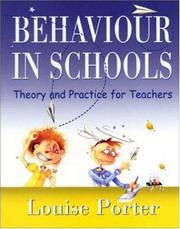 Cover of: Behaviour In Schools | Louise Porter