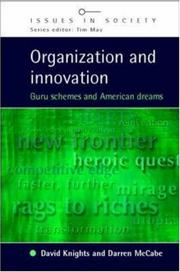 Cover of: Organization and Innovation | Darren McCabe