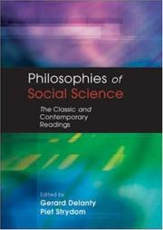 Cover of: Philosophies of Social Science |