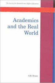 Cover of: Academics and the Real World