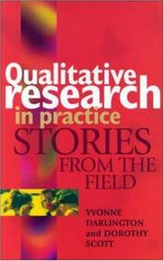 Cover of: Qualitative Research in Practice | Yvonne Darlington