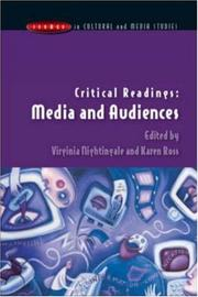 Cover of: Critical Readings | Virginia Nightingale