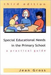 Cover of: Special educational needs in the primary school