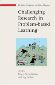 Cover of: Challenging Research In Problem-Based Learning | Maggi Savin Baden