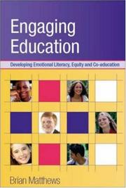 Cover of: Engaging Education