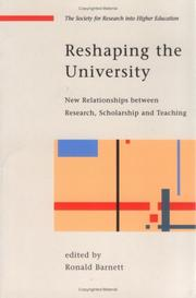 Reshaping the University (Society for Research Into Higher Education)