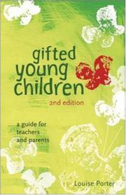 Cover of: Gifted young children