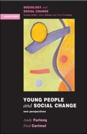 Cover of: Young people and social change by