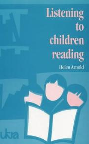 Cover of: Listening to Children Reading (UKRA Teaching of Reading Series)