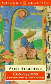 Cover of: Confessions by Augustine of Hippo