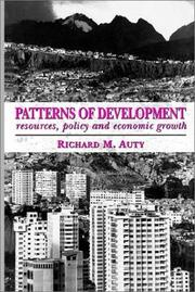 Cover of: Patterns of Development | Richard M. Auty
