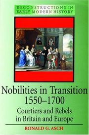 Cover of: Nobilities in transition, 1550-1700