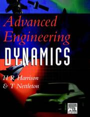 Cover of: Advanced engineering dynamics
