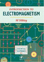 Cover of: Introduction to electromagnetism