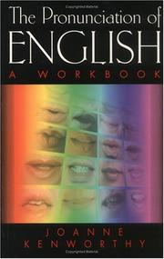 Cover of: The Pronunciation of English | Joanne Kenworthy