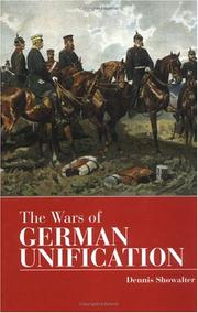 Cover of: The wars of German unification