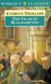 Cover of: The vicar of Bullhampton