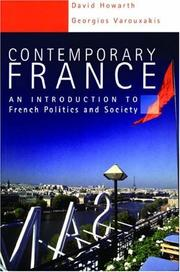 Cover of: Contemporary France | David Howarth