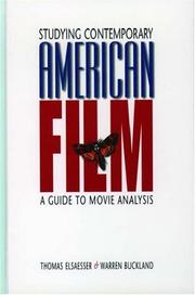 Cover of: Studying contemporary American film