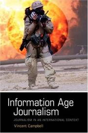 Cover of: Information Age Journalism
