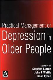 Cover of: Practical management of depression in older people by