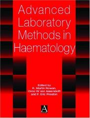 Cover of: Advances in Laboratory Methods |