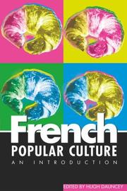 French Popular Culture