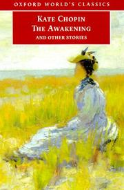 Cover of: The awakening, and other stories | Kate Chopin