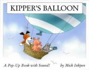 Cover of: Kipper's Balloon (Kipper)