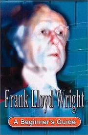 Cover of: Frank Lloyd Wright