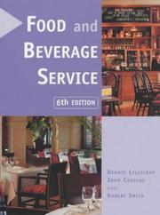 Cover of: Food and Beverage Service 6th Edition