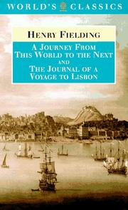 A Journey from This World to the Next by Henry Fielding