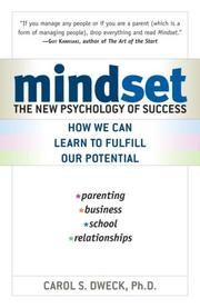 Cover of: Mindset