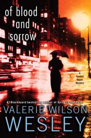 Of Blood and Sorrow by Valerie Wilson Wesley