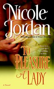 To Pleasure A Lady