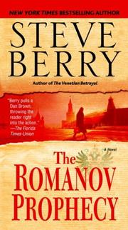 Cover of: The Romanov Prophecy | Steve Berry