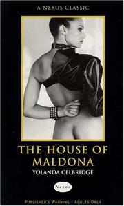 Cover of: House of Maldona (Nexus) | Yolanda Celbridge