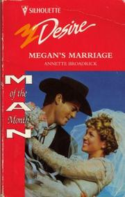 Cover of: Megan'S Marriage
