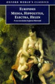 Cover of: Medea and other plays | Euripides