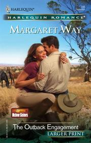 Cover of: The Outback Engagement | Margaret Way