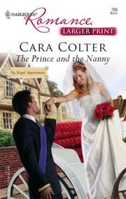 Cover of: The Prince And The Nanny | Cara Colter