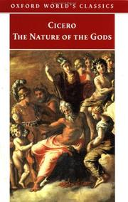 Cover of: The nature of the gods | Cicero
