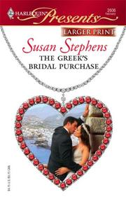 Cover of: The Greek's Bridal Purchase
