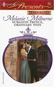 Cover of: Surgeon Prince, Ordinary Wife