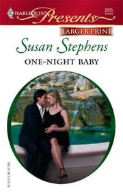 Cover of: One-Night Baby