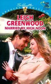 Cover of: Married By High Noon